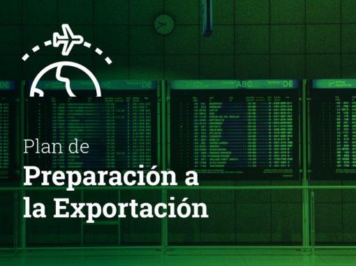 Plan de preparación a la exportación 2020