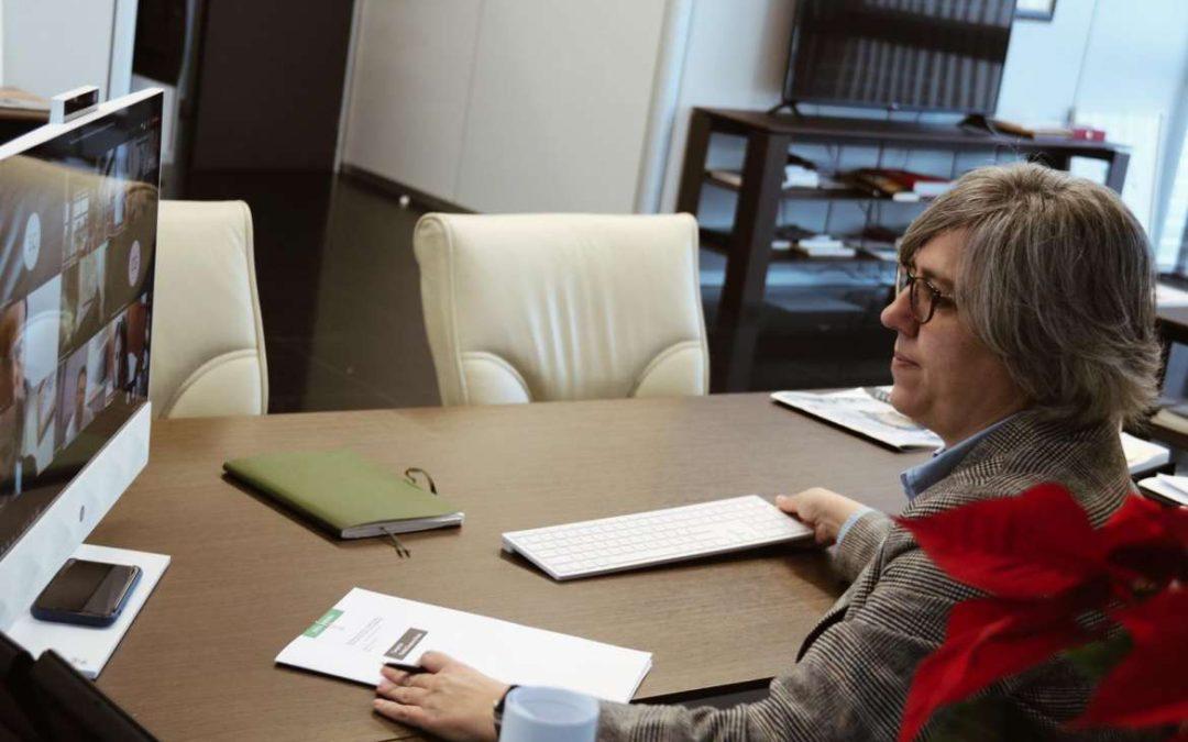 La Mesa de Empleo y Competitividad analiza y debate el documento final de la Estrategia Logística de Extremadura
