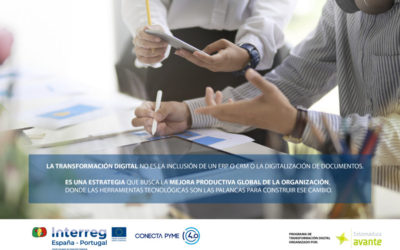 Abierta la nueva convocatoria del Programa de Transformación Digital para Pymes de Extremadura y Portugal