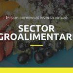 Misión comercial inversa virtual Sector Agroalimentario