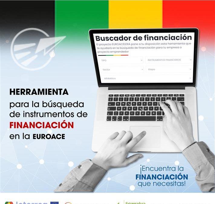 Nueva herramienta para la búsqueda de instrumentos de financiación e inversión impulsada por el proyecto Euroacelera