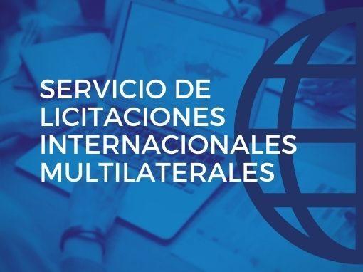 Servicio de Licitaciones Internacionales Multilaterales 2021