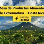 Mesa de Productos Alimentos de Extremadura para el mercado de Costa Rica