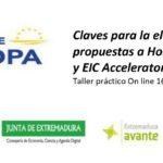 Taller Práctico Claves para la Elaboración de Propuestas a Horizonte Europa y EIC Accelerator